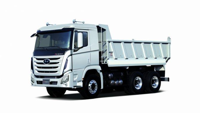 модели корейских грузовиков