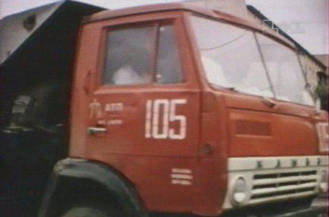 Моделька Камаз-5511 своими руками