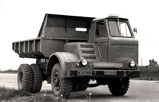 Модификации и сферы применения «МАЗ-500»02