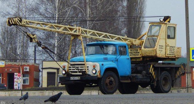 Модификация ЗИЛ «Автокран»