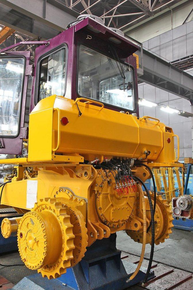 Модульная конструкция трактора