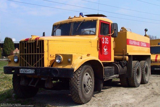 Москва, № 335 — КрАЗ-258Б1
