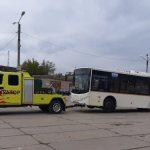 Москва: эвакуация автобуса