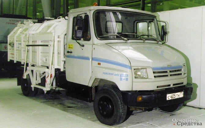 Мусоровоз МКБ-1 на шасси ЗИЛ-5301 «Бычок»