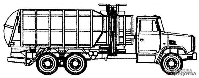 Мусоровоз МКМ-25