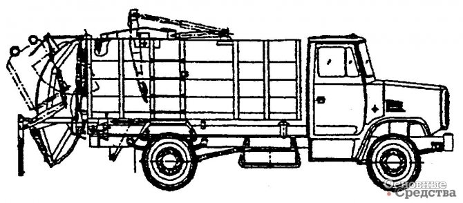 Мусоровоз МКЗ-10