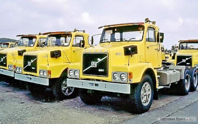 N-Series дебютировали в Европе в сентябре 1973 г. Семейство включало модели N7, N10 и N12. Цифры в индексе указывали на рабочий объём дизеля в литрах