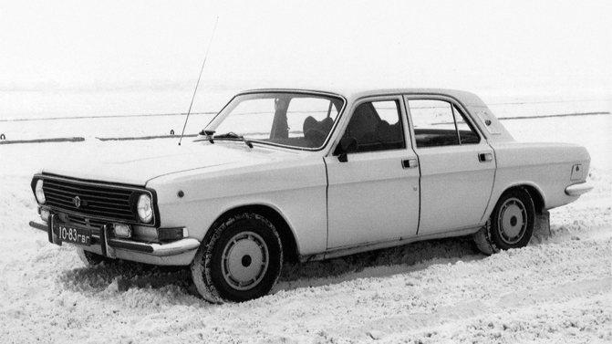 На фото: ГАЗ 24-34