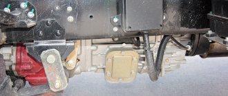 На КП предусмотрена возможность отбора мощности для привода оборудования надстроек