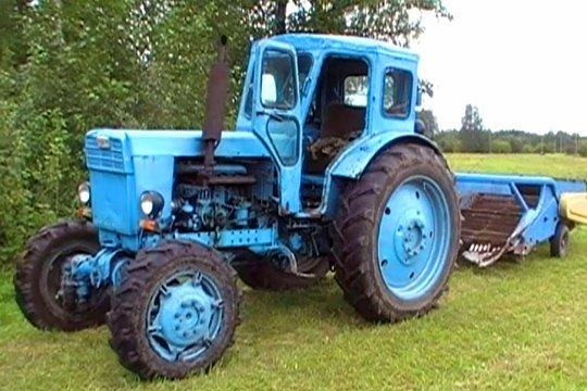 На тракторе Т-40 установлена несущая механическая КПП