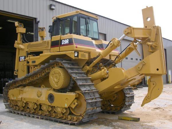 Навесное оборудование бульдозера «CAT D9R»-01