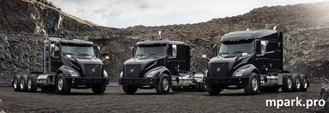 Нишевая новинка. Американский Volvo VNX – усиленный тяжелый тягач
