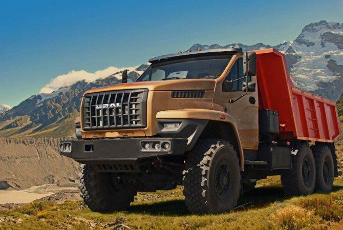 Новый грузовик Урал-Next