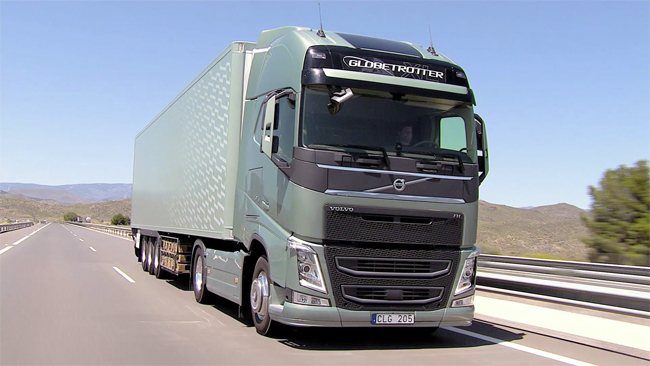 Новый грузовик Volvo FH16 ЕВРО-6