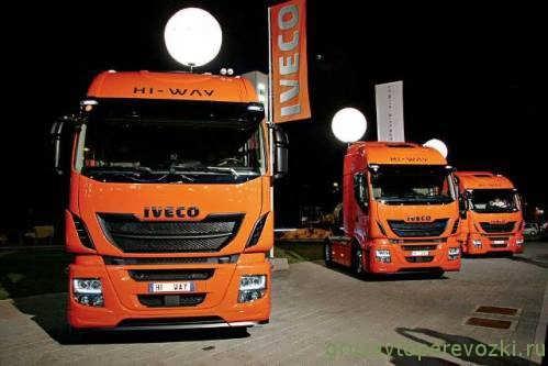 новый iveco stralis
