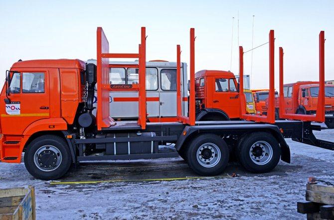 Новый сортиментовоз 65115 на 16 тонн в Красноярске