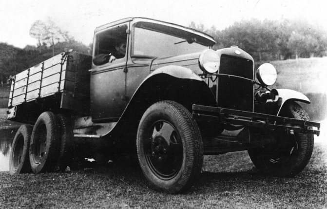 Об истории создания и производства грузовика ГАЗ-ААА