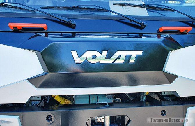 Обновлённая фронтальная панель VOLAT после фэйслифтинга