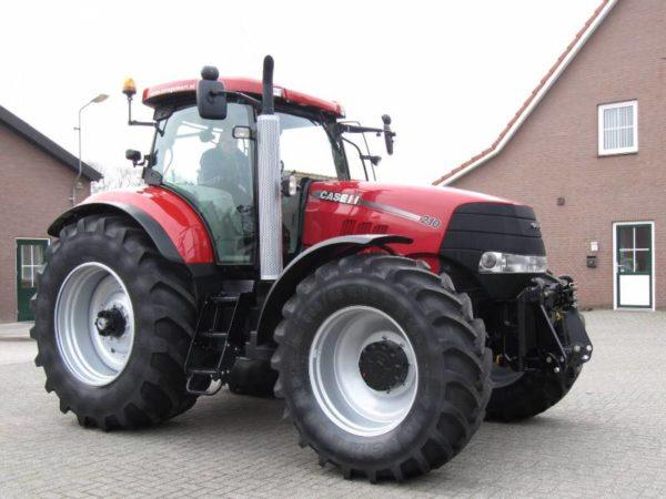 Общее описание трактора Case Puma 210