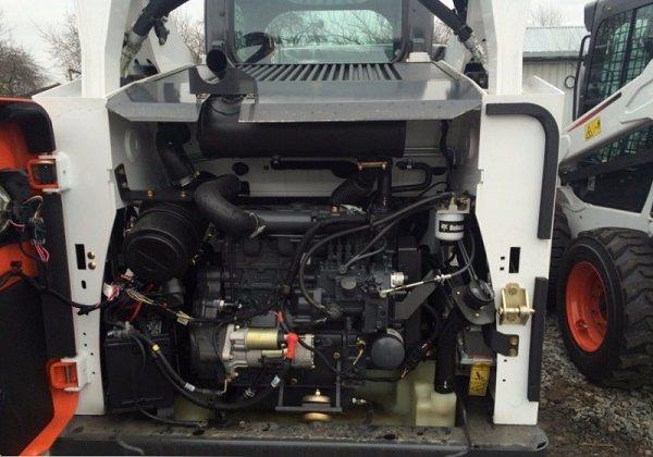 обзор двигателя погрузчика Bobcat S530