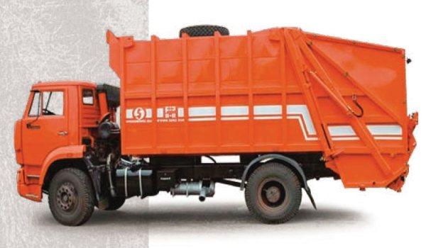 Обзор мусоровозов с задней и боковой загрузкой на базе Камаз