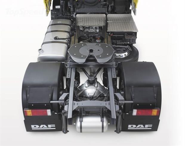 Описание шасси седельного тагача daf xf 105