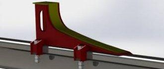 Основные конструкции и виды упоров мостового крана