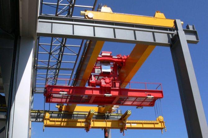Особенности передвижения мостовых кранов