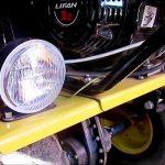 Освещение на мотоблоке