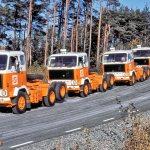 Партия Volvo F89-32 (6х2) для «Совтрансавто», 1975 г. Всего в 1971–1977 гг. выпущено 21 005 грузовиков семейства F89