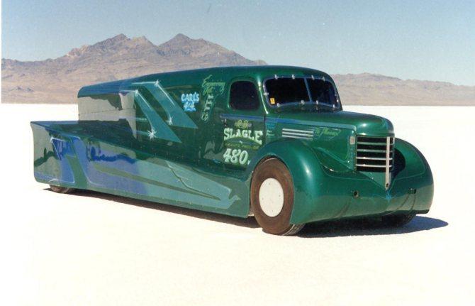 Phoenix – самый быстрый грузовик с дизельным мотором