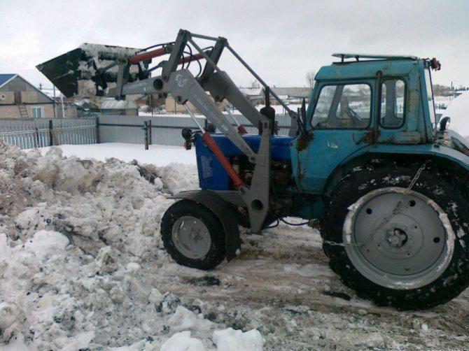 Подготовка трактора МТЗ-80 к работе