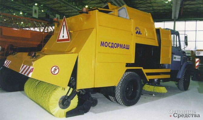 Подметально-уборочная машина ПУ94-4811 (ЗИЛ-433362)