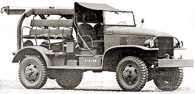 Погрузчик авиабомб Chevrolet NQ-G-7128 (M6 Bomb Service Truck). 1942 г.