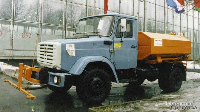 Поливомоечная машина МКДС-1 (ПМ-1) на базе ЗИЛ-433362