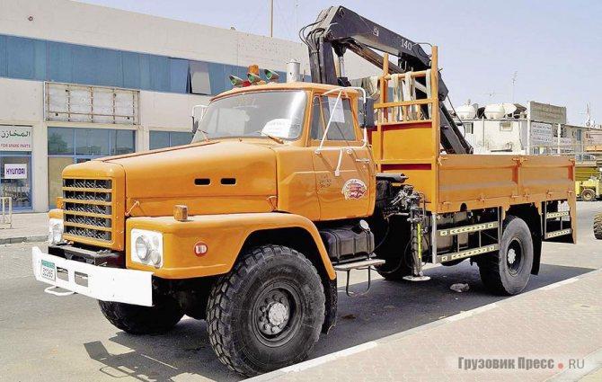 Полноприводные капотные машины серии TFA часто встречаются на Ближнем Востоке