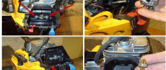 пошаговая инструкция обслуживания карбюратора бензопилы штиль