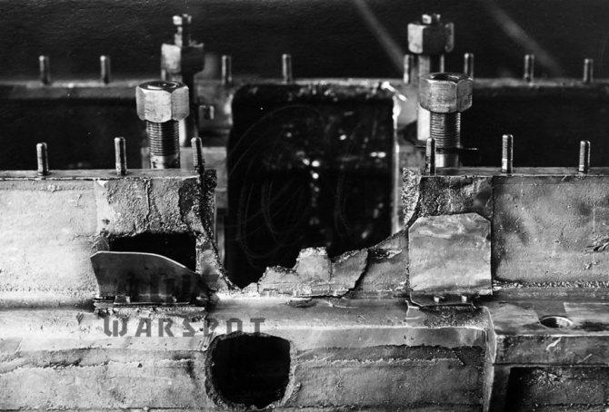 Повреждения двигателя во время войсковых испытаний. - Колёсно-гусеничный тупик   Warspot.ru