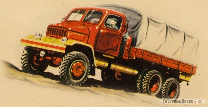 Praga V3S 1957 года выпуска