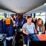 Пример комфортабельности автобуса дальнего следования