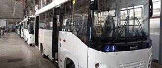 Производство автобусов SIMAZ