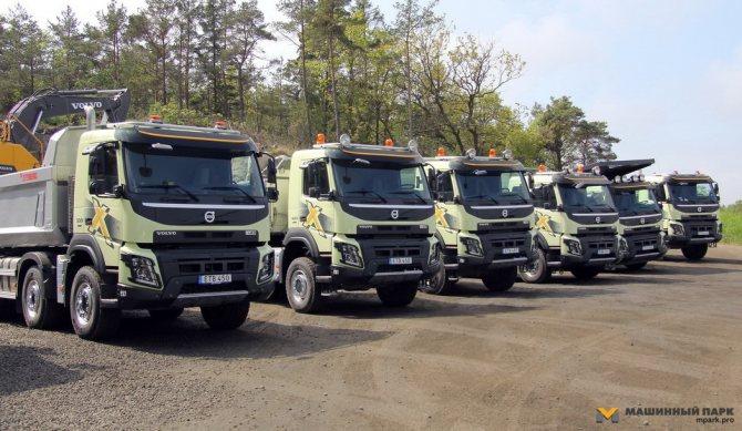 """'Пятерка новых решений Volvo Trucks сезона """"весна-лето 2016"""". Сбывшаяся мечта самосвальщика'"""