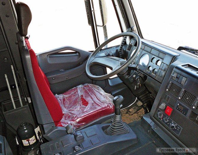 Рабочее место водителя
