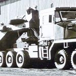Ralph G12 A5, шасси № 0002 – транспортёр для перевозки танков армии ЮАР (Dennis Child)