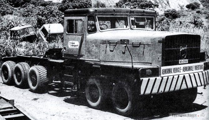 Ralph G12 A5, шасси № 0002 – тягач на службе компании Trojan Transport Services (Pty.) Ltd (Bernd Regenberg)