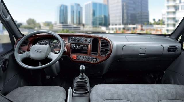 Расход топлива самосвалов Hyundai