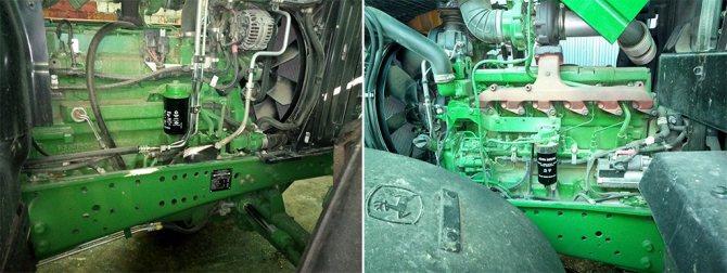 Различные виды технического обслуживания тракторов выполняются с периодичностью от 10 до 1500 часов