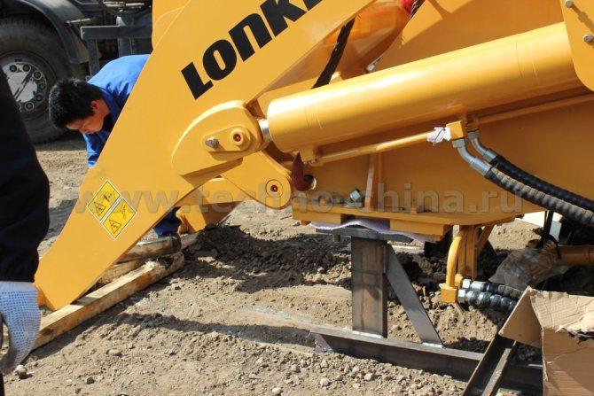 ремонт гидравлики погрузчики lonking