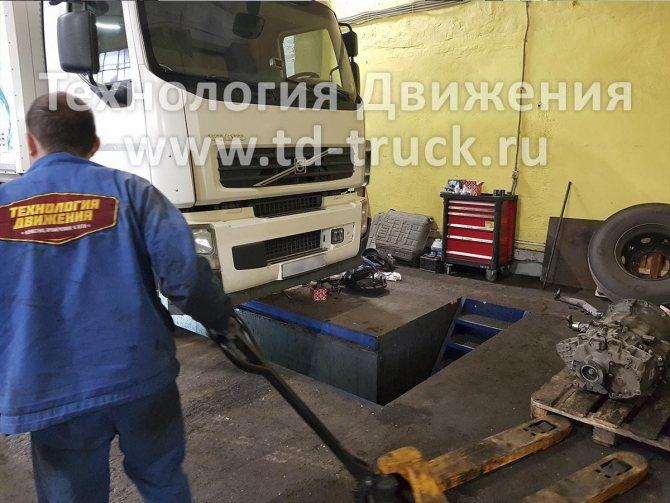 Ремонт КПП Volvo FE