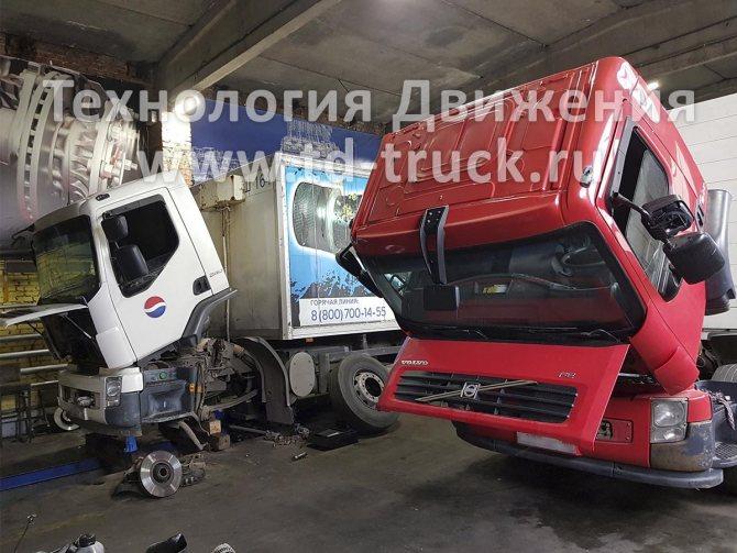 Ремонт Volvo FE